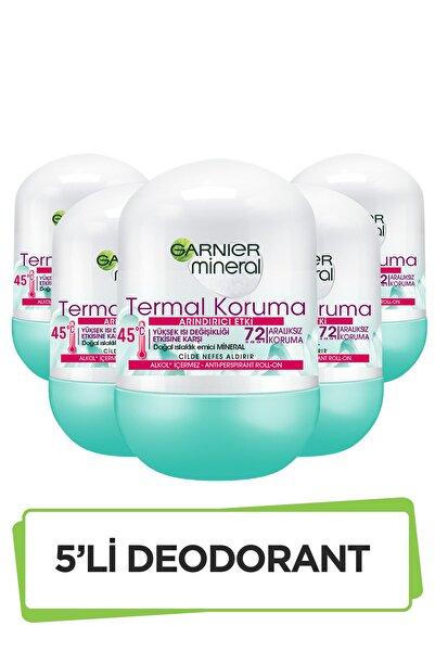 Garnier 5'li Garnier Mineral Termal Koruma Roll-On Deodorant Seti 36005419289305