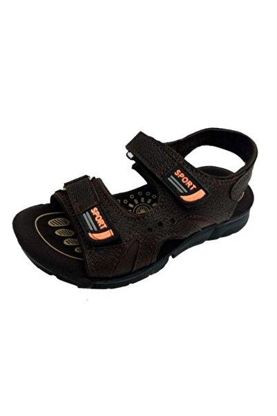 SOYLU Erkek Çocuk Kahverengi Filet Ortopedik Suya Dayanıklı Sandalet 2034