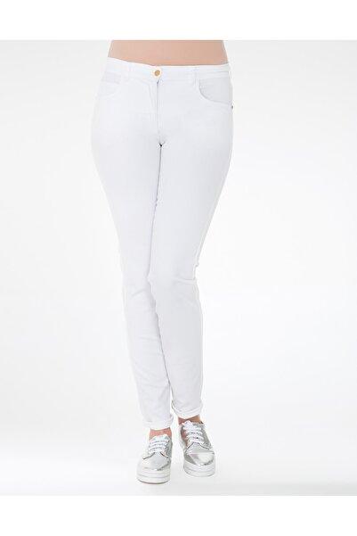 GEBE Kadın Büyük Beden Pantolon Dizzy