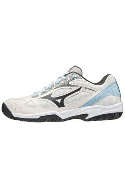 Unısex Beyaz Mavi Voleybol Ayakkabısı