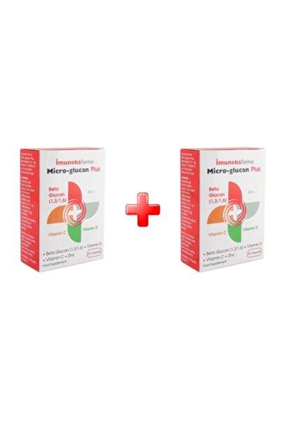 Imuneks Micro Glucan Plus 30 Kapsül 2li Paket