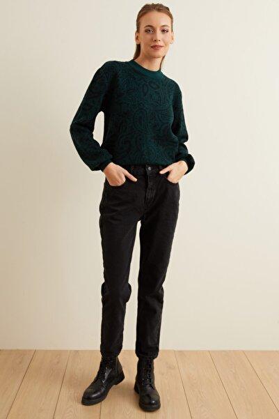adL Kadın Siyah Jean Pantolon