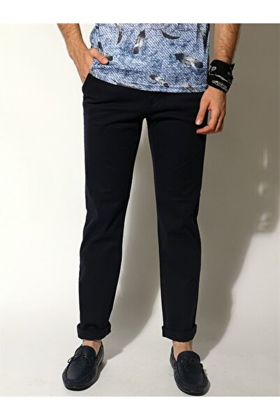 Rodrigo Erkek Siyah Parker Casual Classıc Pantolon 117 J03