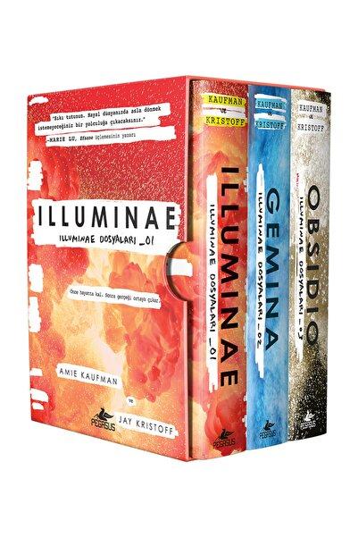 Pegasus Yayınları İlluminae Dosyaları Serisi Takım Set (3 Kitap) İlluminae + Gemina + Obsidio