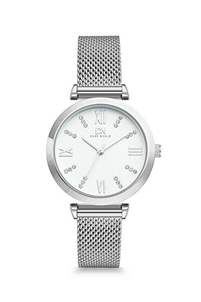 Duke Nickle Dbg1018 Kadın Kol Saati Hasır Gümüş