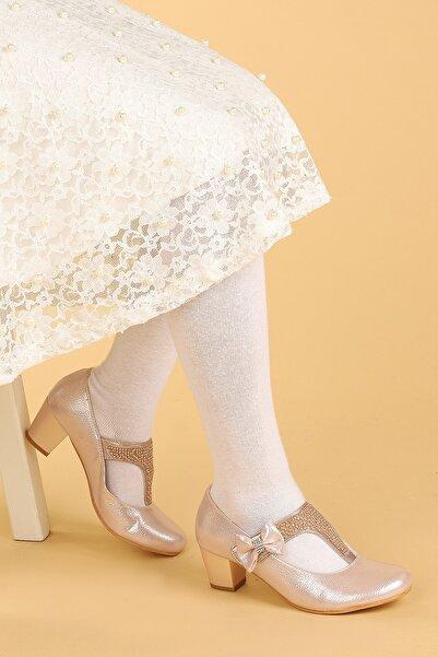 Kiko Kids Kiko 755 Vakko Günlük Kız Çocuk 4 Cm Topuk Babet Ayakkabı