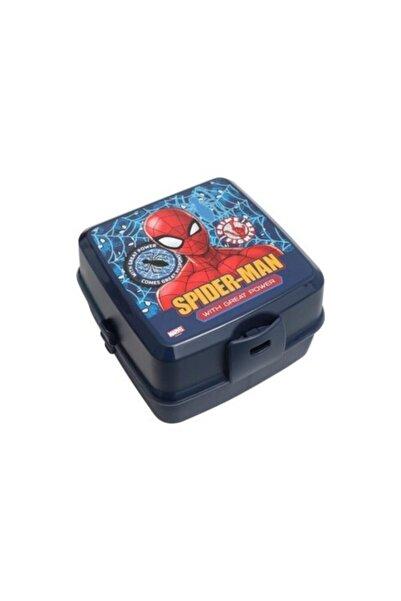 SPIDERMAN Orijinal Lisanslı Dört Bölmeli Spiderman Beslenme Kabı 43603