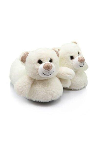 Twigy Tt0753 Bear Beyaz Kadın Kışlık Panduf
