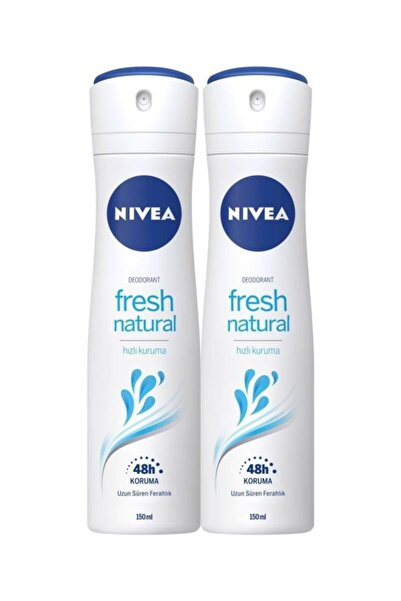 Fresh Natural Kadın Deodorant 150 Ml X 2