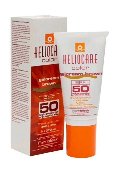 Heliocare Color Spf 50 Gelcream Brown 50ml