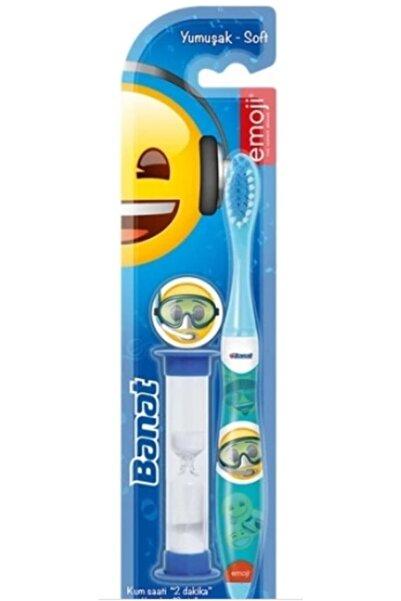 Banat Emoji Kum Saatli Çocuk Diş Fırçası