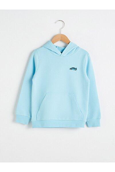 LC Waikiki Erkek Çocuk Mavi Sweatshirt