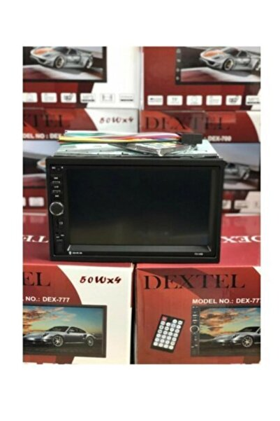 Venüs Tuning Dextel Dex-700 Android Double Araba Teyip Usb Bt Sd Video Full