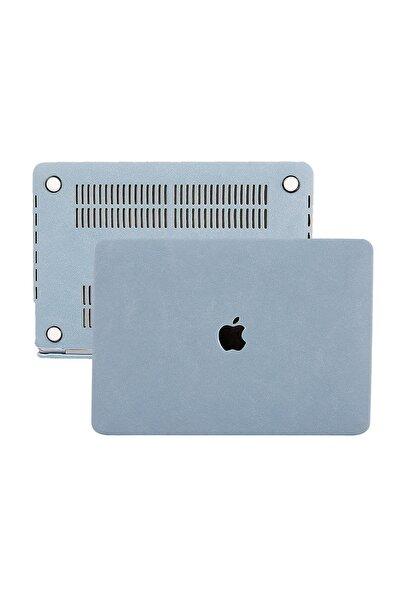 Mcstorey MacBook Pro Kılıf Hard Case A1708 A1706 A1989 2251 A2289 A2338 13 inc Uyumlu Kumaş Kaplama Goat 1084