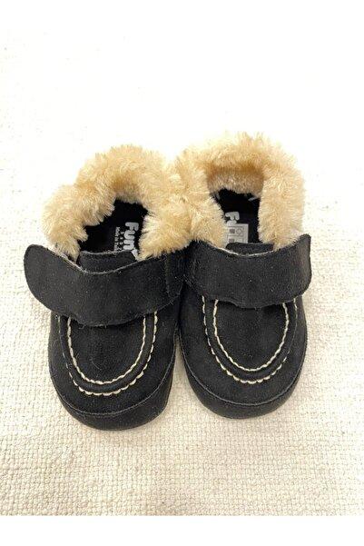 Funny Erkek Bebek Patik Ayakkabı Kürklü
