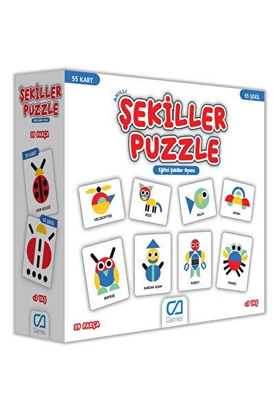 CA Games Akıllı Şekiller Puzzle