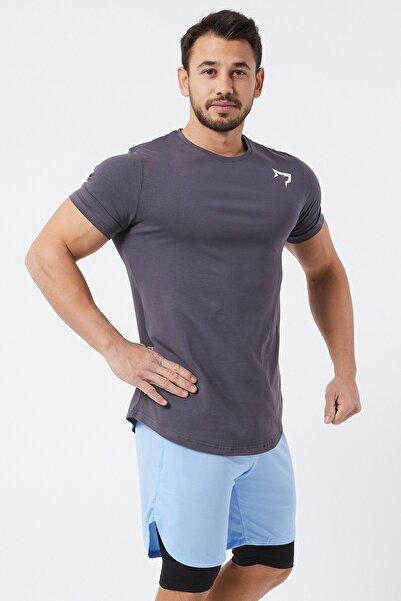 Gymwolves Spor Erkek T-Shirt | Füme | T-shirt | Workout Tanktop |