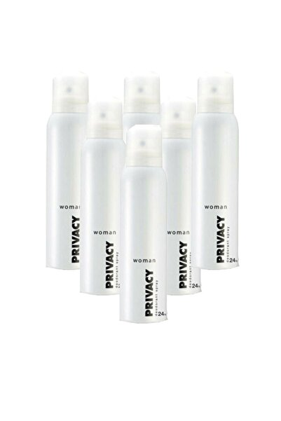 Privacy Woman Classic 150 Ml Deodorant X 6
