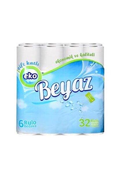 EKO BEYAZ Tuvalet Kağıdı Çift Kat 32 Li