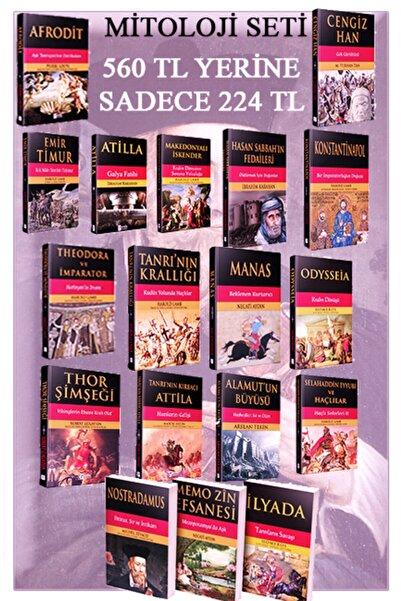 Parola Yayınları Mitoloji Set 18 Kitap