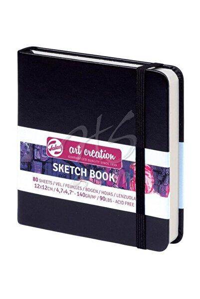 Art Creation Talens Sketch Book 12x12cm Siyah