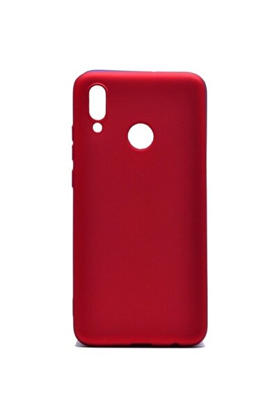 Huawei Teleplus Y7 2019 Lüks Silikon Kılıf Kırmızı