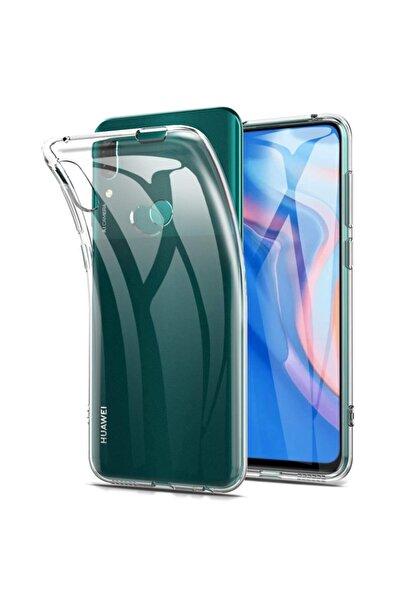 Huawei Teleplus Y9 Prime 2019 Kılıf Lüks Silikon Şeffaf