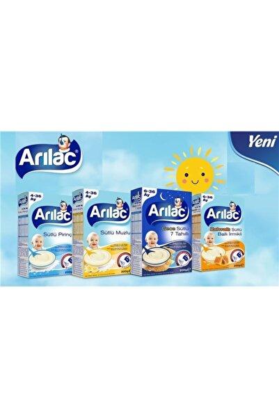 ARI Lac Instant Ek Gıda ( Mama) Sütlü Pirinçli 200gr (200gr Karma 9'lu Set)