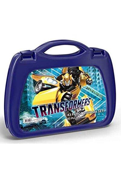 Yaygan Transformers 43 Parça Boyama Seti Çantalı