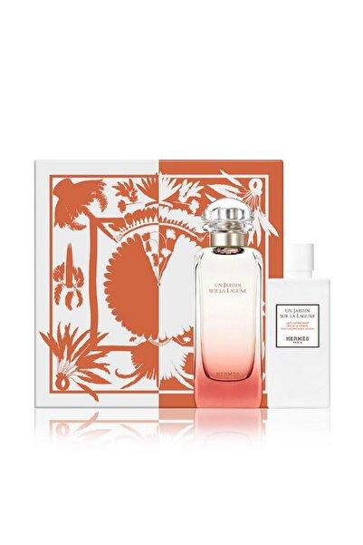 Hermes Un Jardin Sur La Lagune Edt 100 ml + Body Lotion 80 ml 3346133600814