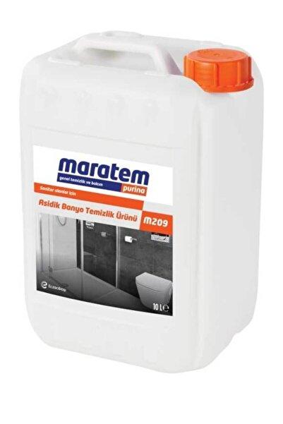 Maratem M209 Asidik Banyo Temizlik Ürünü 10lt 8693239225249