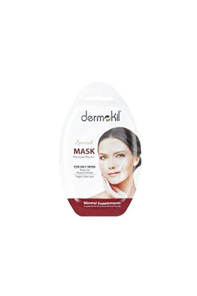 Dermokil Special Yağlı Ciltler Için Tek Kullanımlık Maske 15 Ml