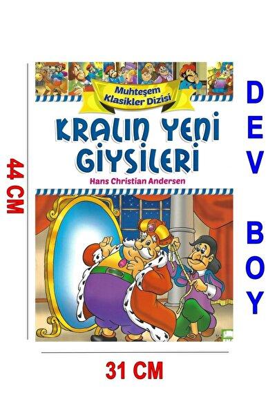 Ema Çocuk Okul Öncesi Dev Boy Hikaye 31x44 Cm Kuşe Kağıt 16 Sf Kralın Yeni Giysileri+keçeli Kalem