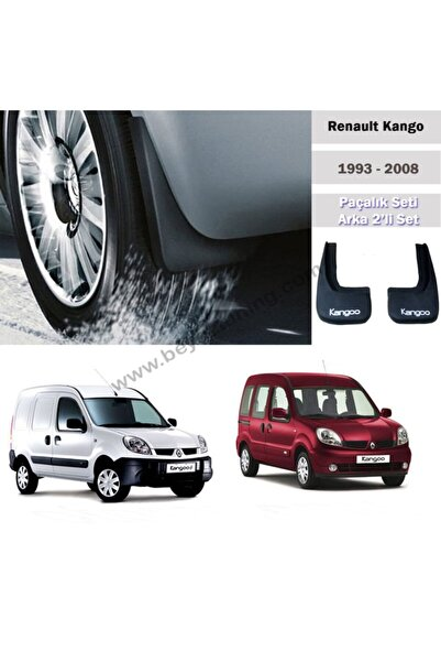 Leader Renault Kangoo Paçalık Tozluk Çamurluk Arka Set 1998-2008