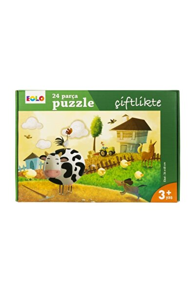 Eolo 24 Parça Yer Puzzle Çiftlikte