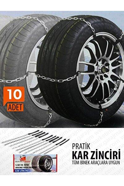 EFFECTIVE Garaj Marketim Takmatik Pratik - Çelik Kar Zinciri (10 Adet)