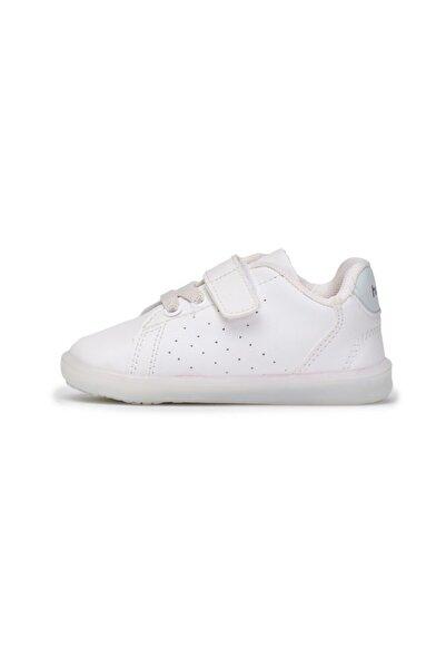HUMMEL Unisex Çocuk Beyaz Taegu Jr Sneaker Spor Ayakkabı