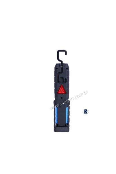 Değerli Watton Wt-293 Şarjlı Mıknatıslı Oto Güçlü Led Lambası