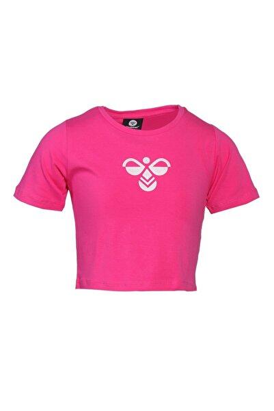 HUMMEL Kız Çocuk Pembe Monteresso Crop Tshirt