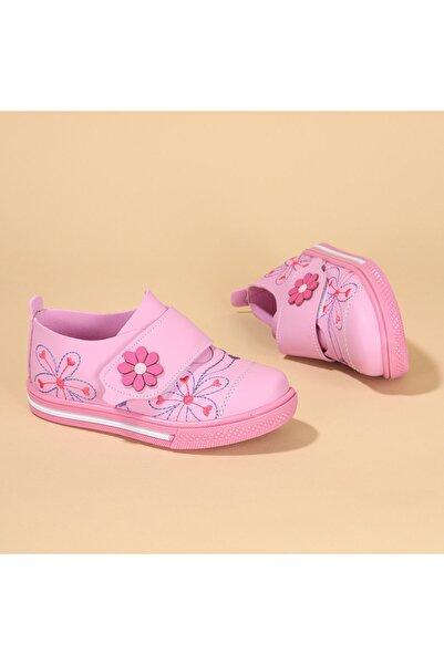 Kiko Kids Kız Çocuk Pembe Günlük Ayakkabı