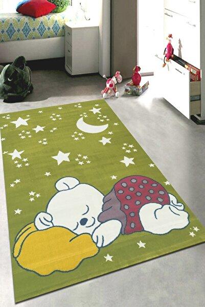 Payidar Halı Kids Amigo 8514a Uykulu Ayıcık Desenli Çocuk Halısı