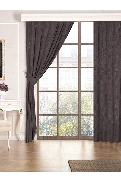 Belnido Koyu Gri Home 300 X 250 i New Soft Fon Perde