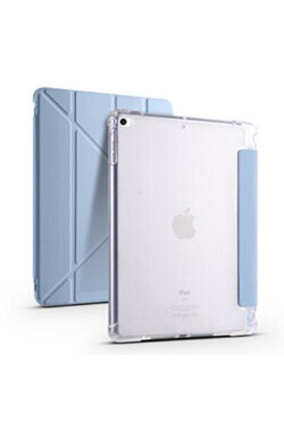 zore Apple Ipad 9.7 2017 Kılıf Stand Olabilen Kalem Bölmeli Korumalı Tri Folding Model