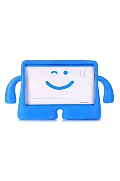 Samsung Teleplus Galaxy Tab A 8.0 (2019) T290 Kılıf Ibuy Standlı Silikon Mavi