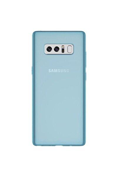Samsung Teleplus Galaxy Note 8 Kılıf Ince Silikon Mavi