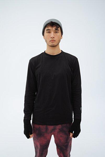 Fineapple Erkek Siyah Uzun Kollu Tshirt