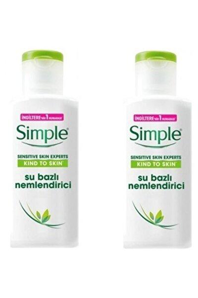 Simple Sensitive Skin Experts Su Bazlı Nemlendirici 125 Ml X 2 Adet 7777777177442
