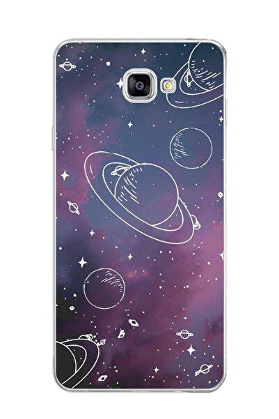 Dafhi Aksesuar Samsung Galaxy J7 Prime  Uyumlu Gezegen Telefon Kılıfı