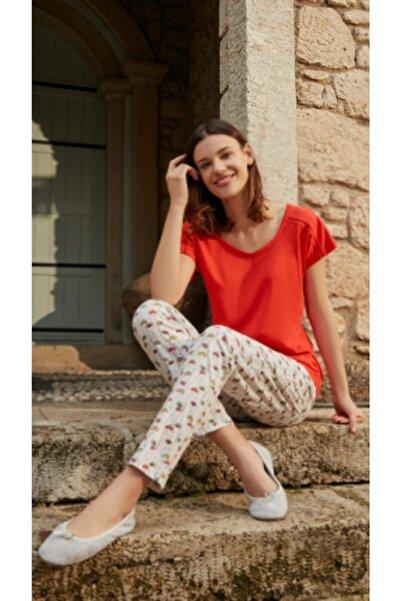 Eros Pijama Kadın Pembe Pijama Takım Ep26640