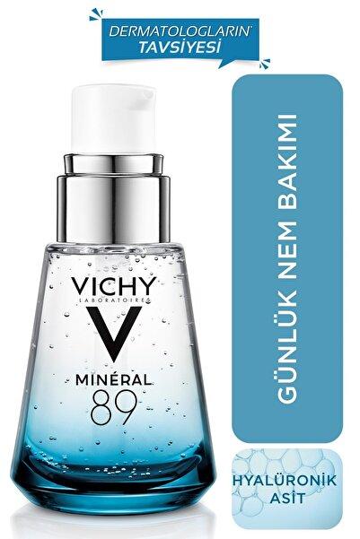 Vichy Mineral 89 Nemlendirici Cilt Serumu Hyalüronik Asit ve Termal Su Cilde Güç ve Nem Veren Bakım 30 ml